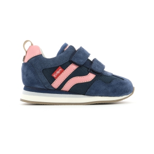 Kickers CARILLON BB BLEU ROSE