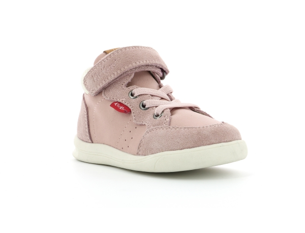 Kickers CHICAGO BB MID ROSE