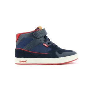 Kickers GREADY MID CDT AZUL ROJO