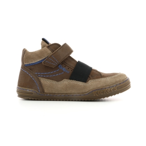 Kickers JINGLELAST marrone scuro