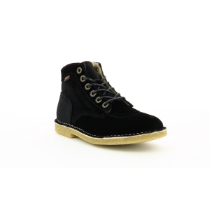 Kickers KICK LEGEND NOIR VELOURS