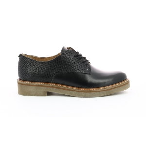 Kickers OXFORK BLACK REPTIL