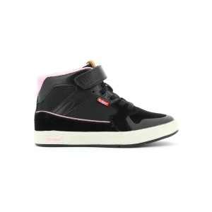 Kickers GREADY MID CDT NEGRO ROSA