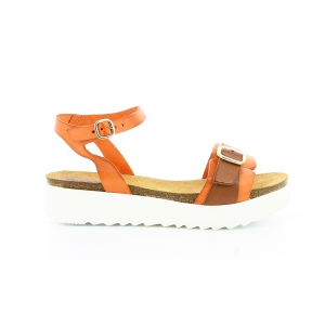 Kickers LACHA ORANGE MARRON