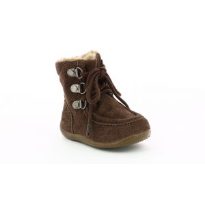 Kickers BAMARA MARRON FONCE