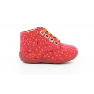 Kickers BILLY FUCHSIA IMPR ORANGE
