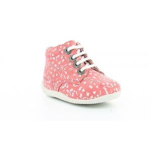 Kickers BILLY PINK WHITE