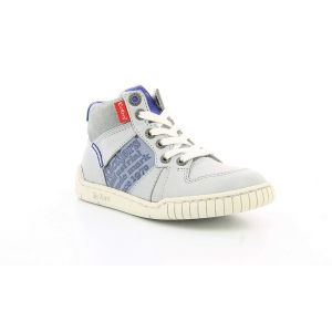 Kickers WAZABI LIGHT GREY BLUE
