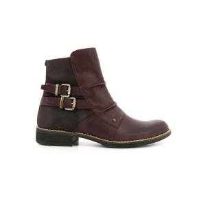 Kickers SMATCH BURGUNDY