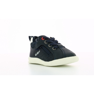Kickers CHICAGO BB MARINE BLANC