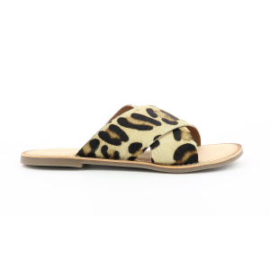 Kickers DIAZ BEIGE ESTAMPADO LEOPARDO