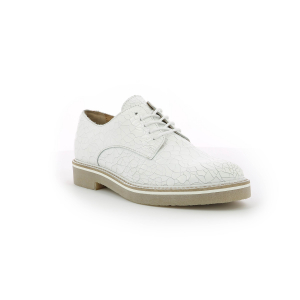 Kickers OXFORK WHITE CRACKED