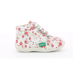 Kickers BILLY BLANC FLEURI