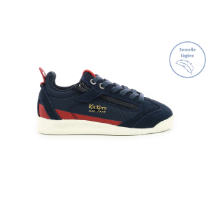 Kickers KICK 18 CDT ZIP MARINE/ ROUGE