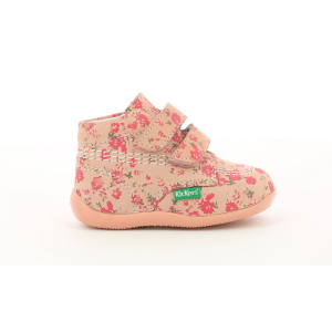 Kickers BILLY VELK ROSE CORAIL FLEURI