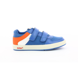 Kickers GREADY LOW CDT BLUE  ORANGE