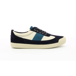 Kickers THEORY BLU SCURO BIANCO SPORCO