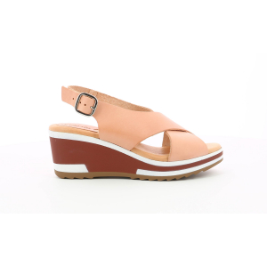 Kickers WING ROSE NUDE