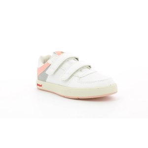 Kickers GREADY LOW CDT BLANCO  ROSA