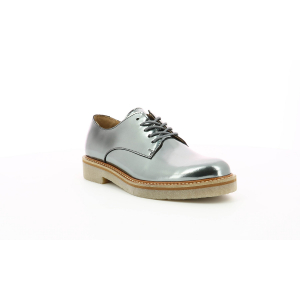 Kickers OXFORK DARK GREY MIRROR