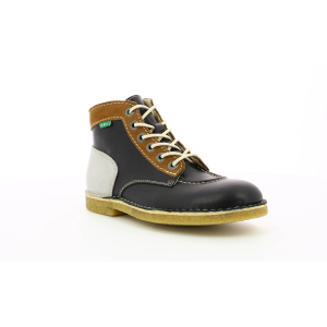 Kickers KICK LEGEND NEGRO BLANCO BEIGE