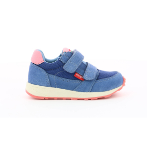 Kickers DIDLOU BB BLEU DENIM ROSE