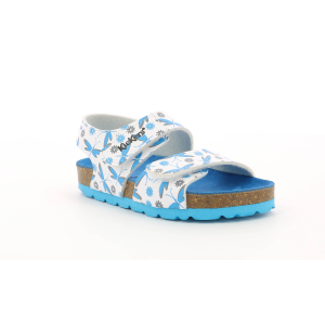 Kickers SUMMERKRO WHITE BLUE LIBELLULE