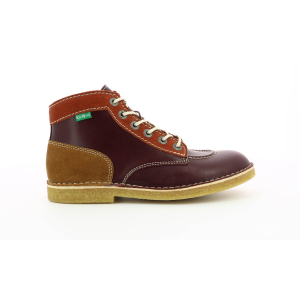Kickers KICK LEGEND BORDEAUX MULTICOLORE