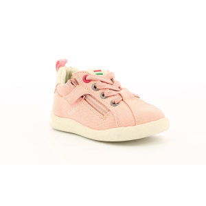 Kickers CHICAGO BB PINK  OFF-WHITE