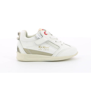 Kickers KICK 18 BB LEA OTHER WHITE