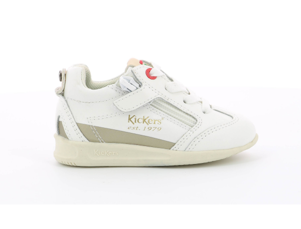 KICK 18 BB LEA OTHER WHITE