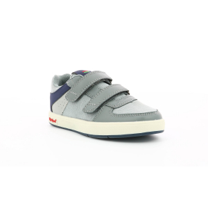 Kickers GREADY LOW CDT GRIS  AZUL MARINO