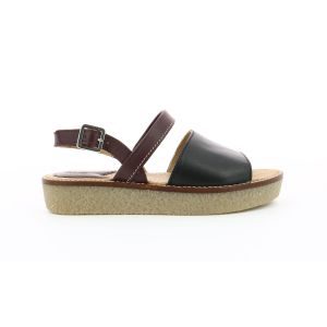 Kickers VICTORIETTE BLACK BURGHUNDY