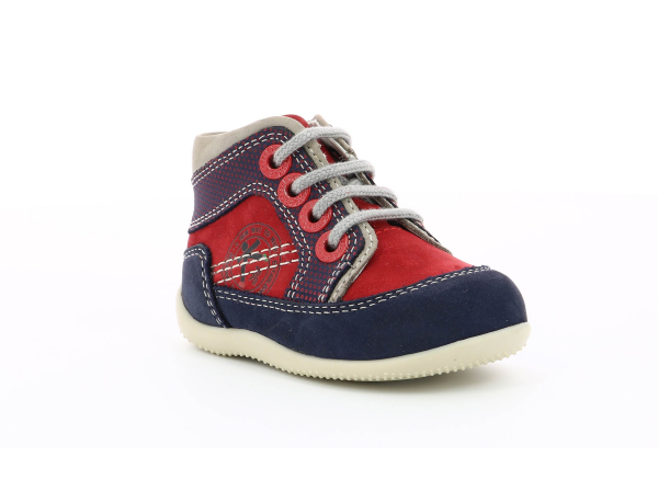 Kickers BIBOY RED NAVY