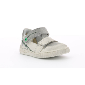 Kickers WHATSUP BLANC GRIS