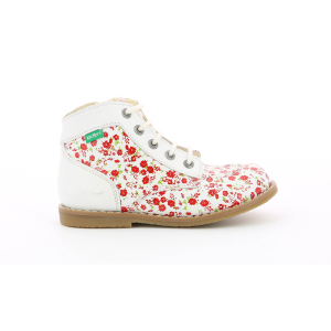 Kickers KOUKLEGEND WHITE FLOWERS