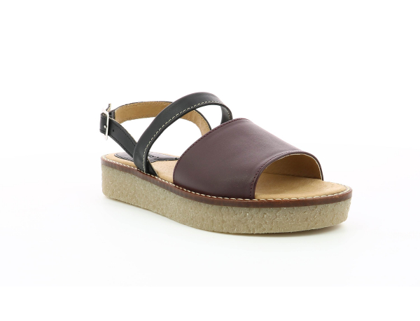 Kickers VICTORIETTE BURGHUNDY BLACK