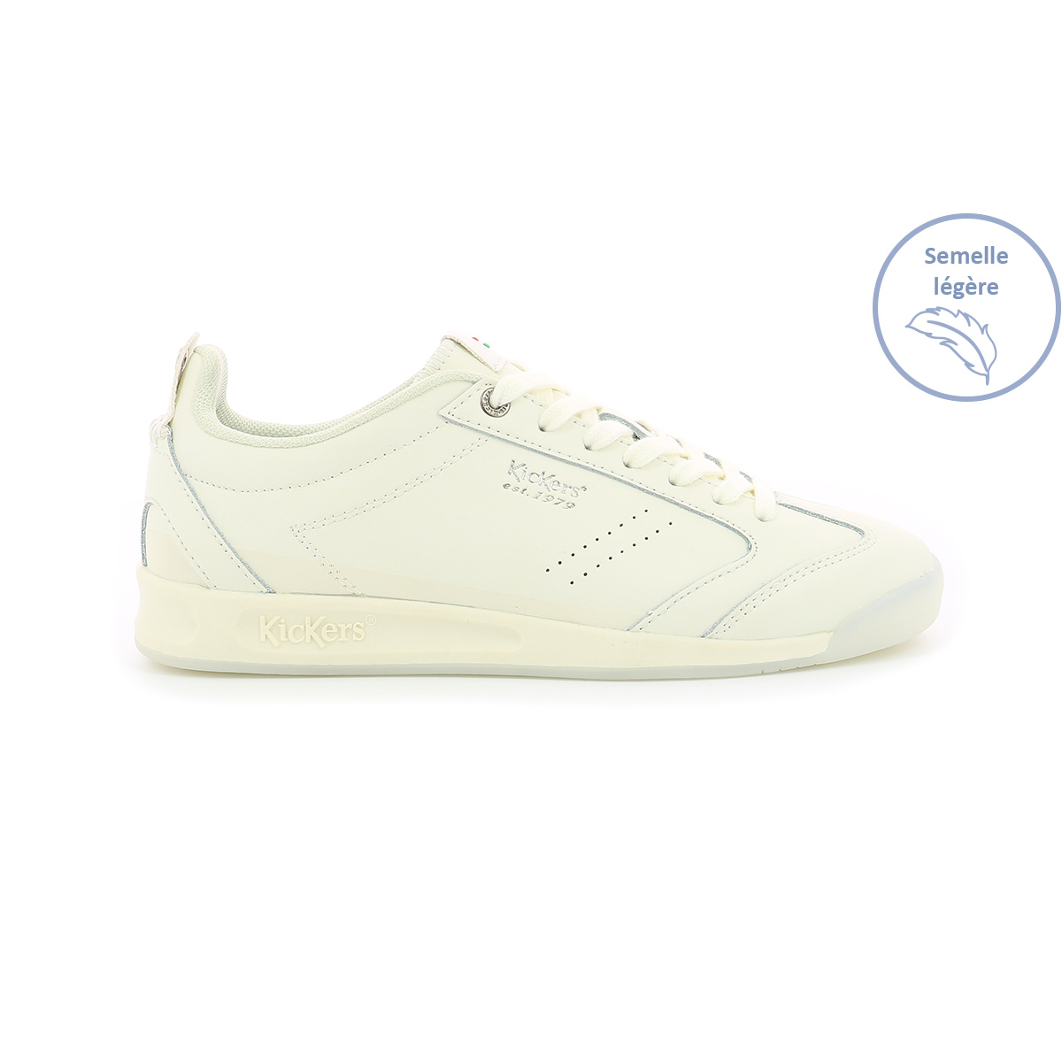 Sneakers basses pour femme Kick 18 Wn blanc - Chaussures