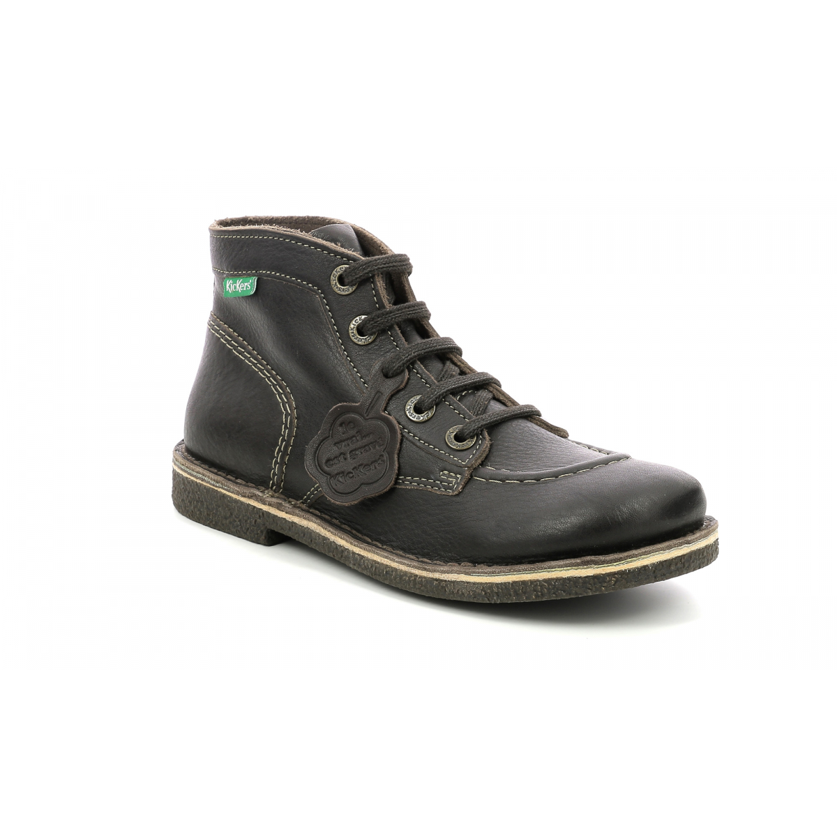 6ac80d2fe8e0f0 Chaussures Femme LEGENDIKNEW MARRON FONC SEMELLE MAR PERM - Kickers