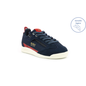 Kickers KICK 18 JUNIOR ZIP MARINE / ROUGE