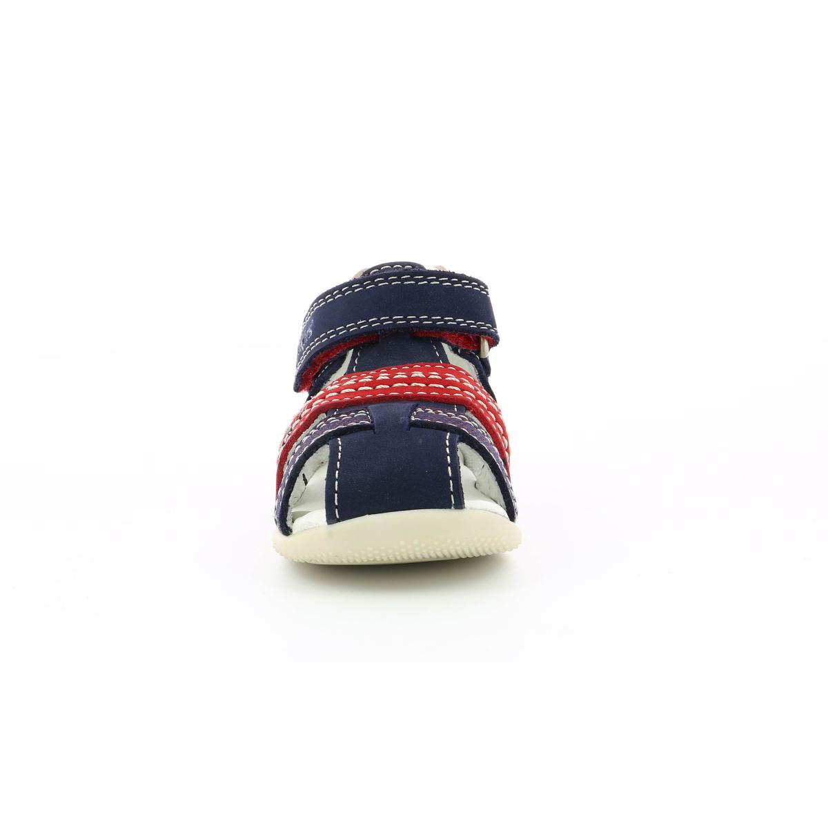 9a56a4480264 Chaussures Enfant BONUS ROUGE MARINE - Kickers