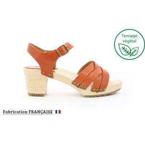 Kickers SATINE CAMEL BRIQUE
