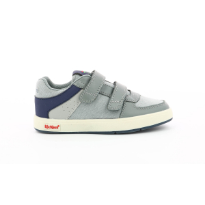 Kickers GREADY LOW JUNIOR GRIS / MARINE