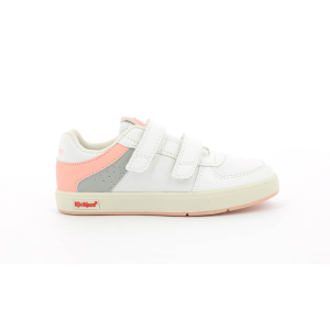 Kickers GREADY LOW CDT BIANCO ROSA