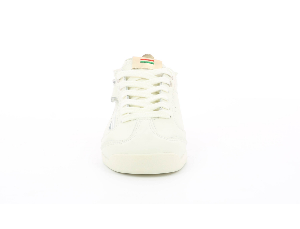 KICK 18 CDT ZIP BLANC  OR CLAIR