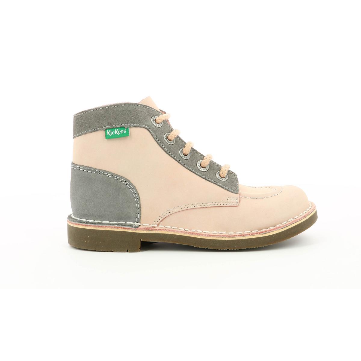 Chaussures Enfant KICK COL ROSE CLAIR Kickers