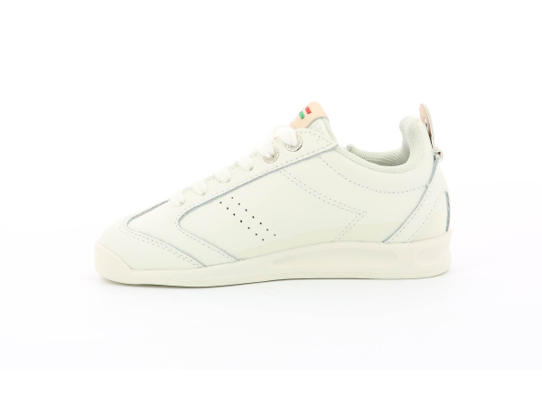 KICK 18 CDT ZIP BLANC/ OR CLAIR