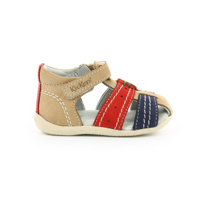Kickers BIGBAZAR BEIGE RED NAVY