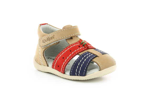 BIGBAZAR BEIGE RED NAVY