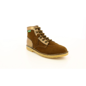 Kickers ORILEGEND MARRON KAKI BRONZE FEMME